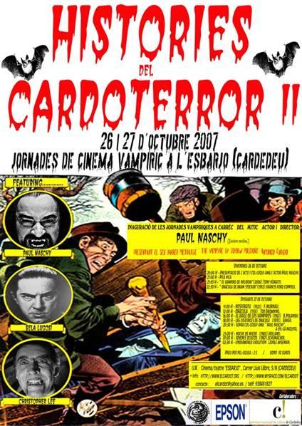 "CARDOTERROR II Especial ""Cinema vampiric"" - 2007"