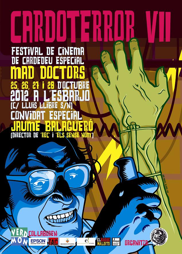 """CARDOTERROR VII Especial """"Mad Doctors"""" - 2012"""