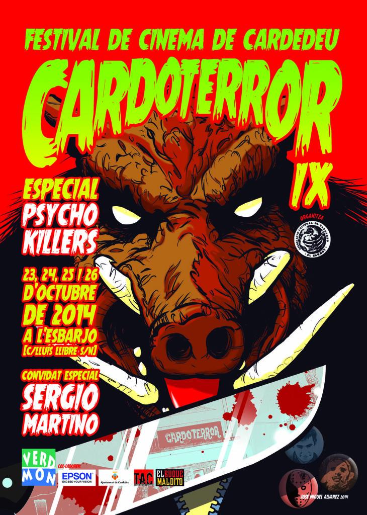 "CARDOTERROR IX Especial ""Psycho Killers"" - 2014"